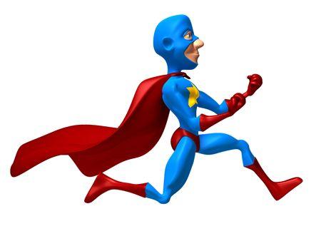 superboy: Superhero Stock Photo