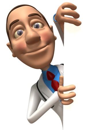 Arzt Standard-Bild - 4012895