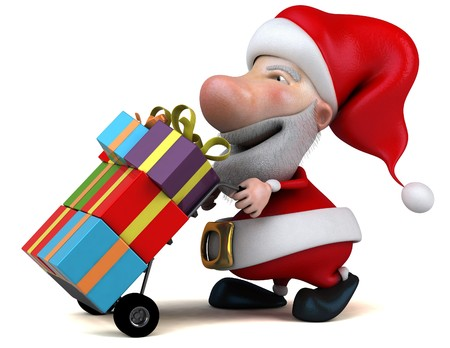 goody: Santa claus Stock Photo