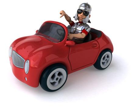 roman empire: Fun car