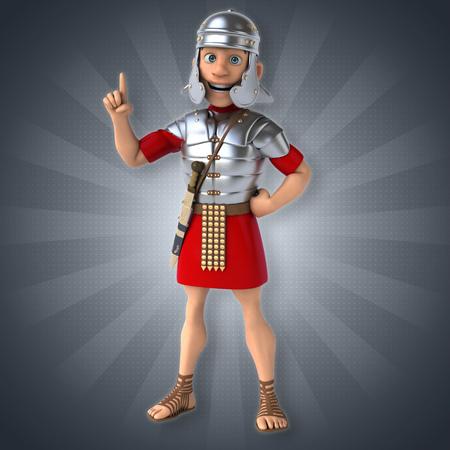 roman empire: Roman soldier