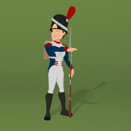 regiment: Napoleonic soldier