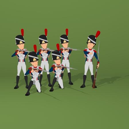 napoleon bonaparte: Napoleonic soldier