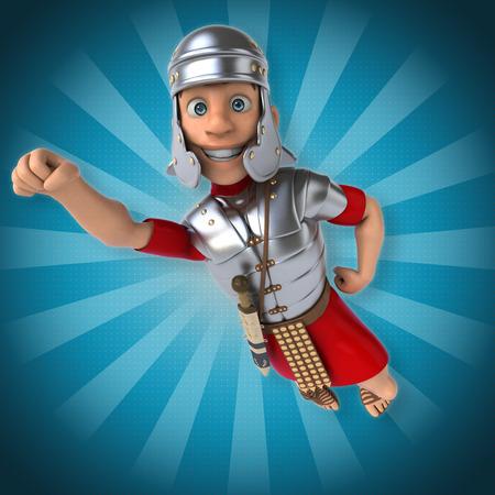 the roman empire: Roman soldier