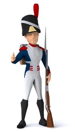 foot soldier: Napoleonic grenadier