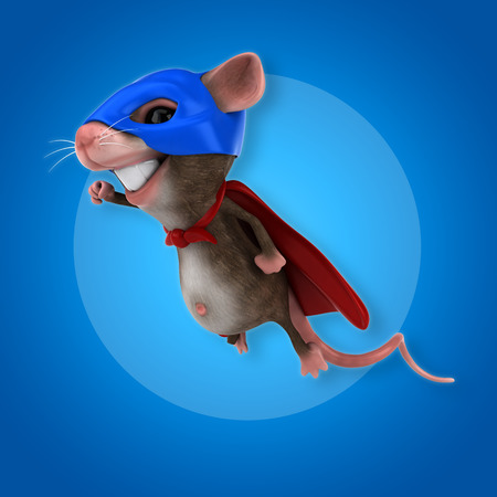 vermin: Super mouse Stock Photo