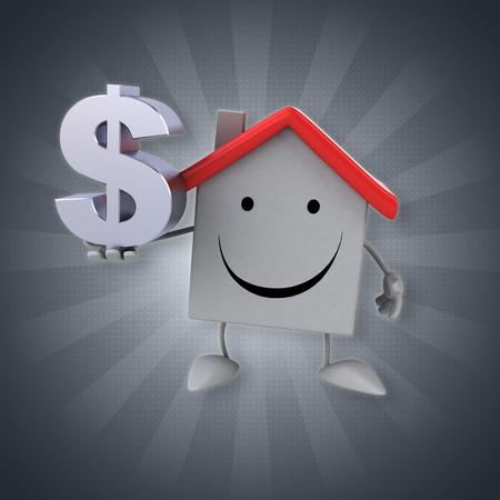 money symbol: House