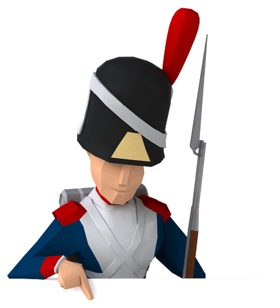 waterloo: Napoleonic grenadier
