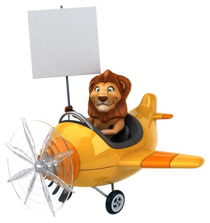 aeronautical: Fun lion