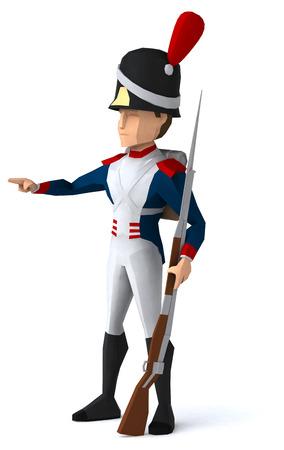 napoleon bonaparte: Napoleonic grenadier