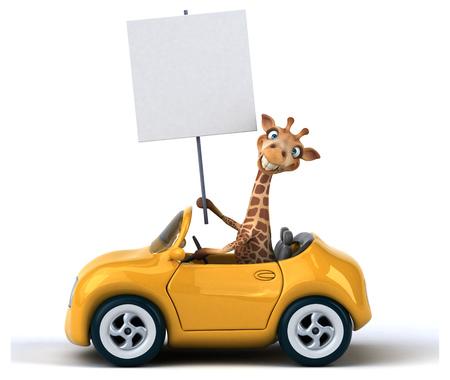 jirafa diversión