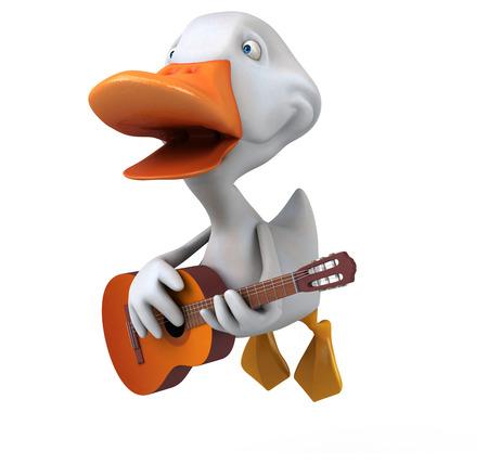 white duck: White duck
