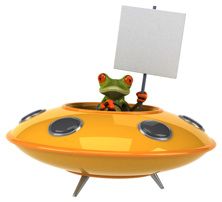 space invader: Fun frog