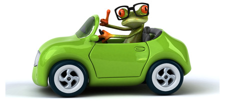 aerodynamic: Fun frog