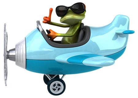 aeronautical: Fun frog