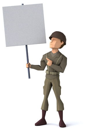 world war two: American GI Stock Photo