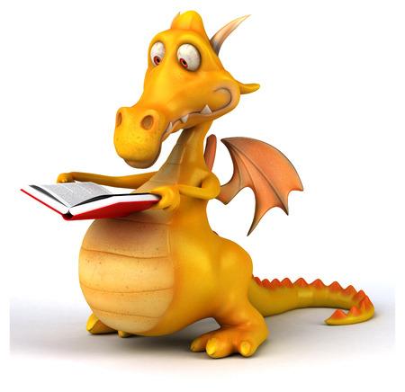 cartoon dragon: Fun dragon