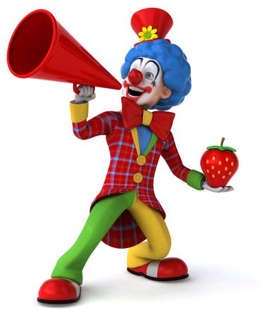 birthday clown: Fun clown
