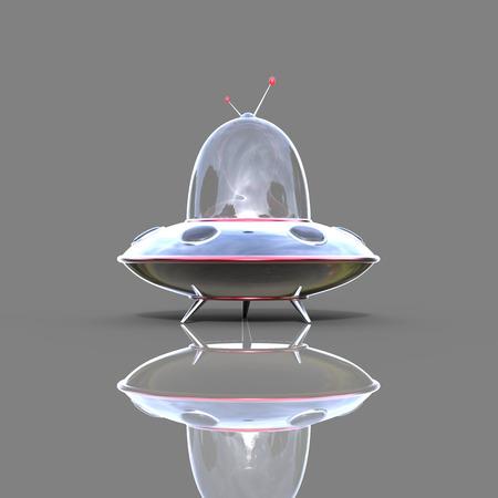 invader: Spaceship Stock Photo
