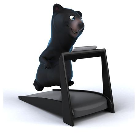 jungle gyms: Fun bear Stock Photo
