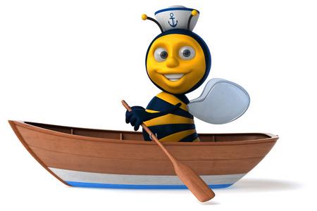 seaman: Fun bee Stock Photo