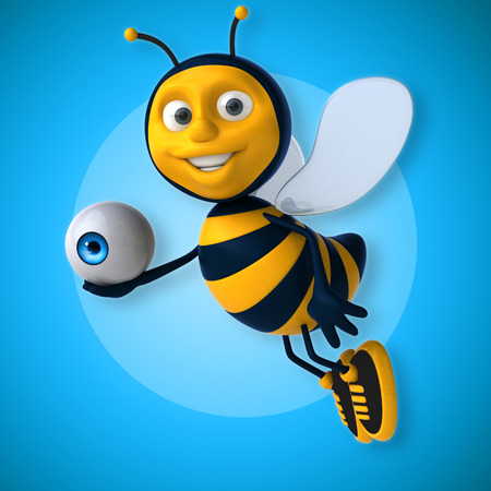 healthcare workers: Fun bee Stock Photo