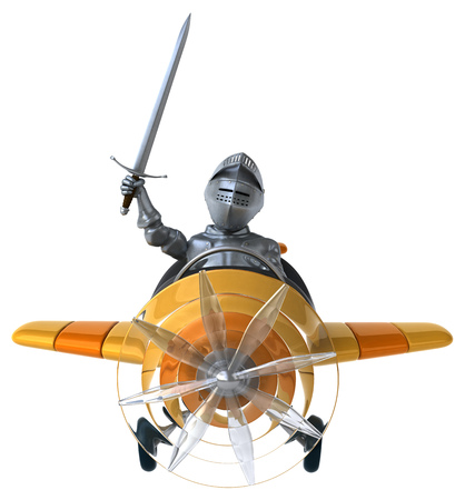 middle air: Fun knight