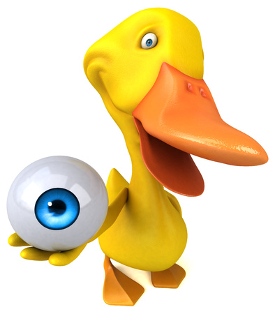 big brother: Duck Stock Photo