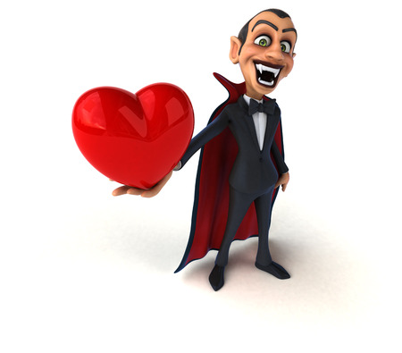 prince charming: Vampire Stock Photo
