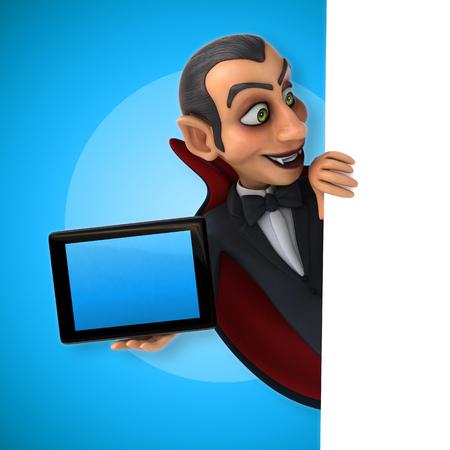computer animation: Vampire Stock Photo