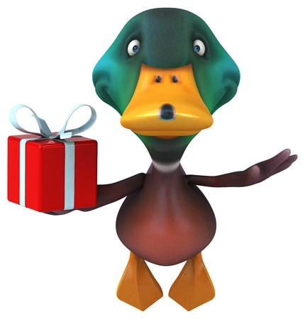 drake: Fun duck Stock Photo