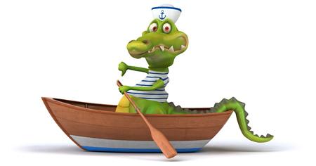 seaman: Fun crocodile