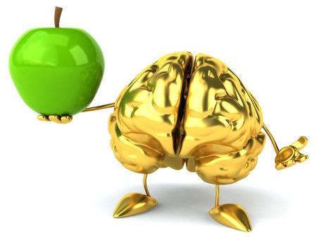 conscious: Fun brain Stock Photo