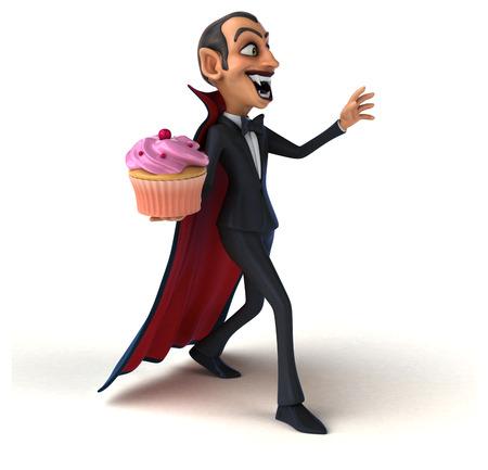 blood sugar count: Vampire Stock Photo
