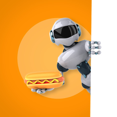 food science: Robot Stock Photo