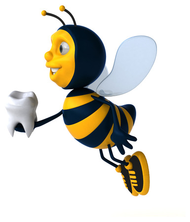 healthcare worker: Fun bee Stock Photo