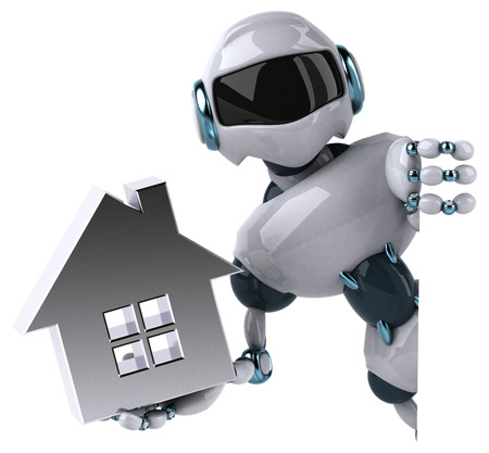 home automation: Robot Stock Photo