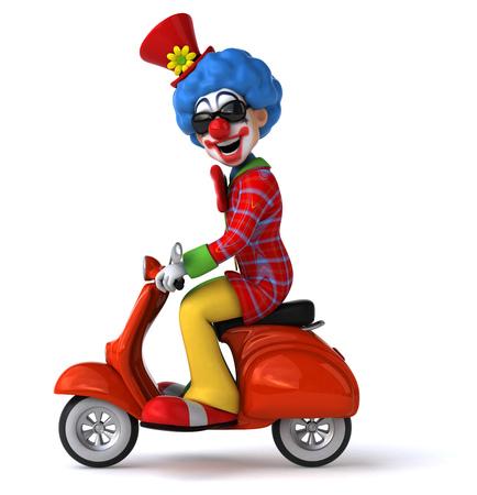 clown circus: Fun clown