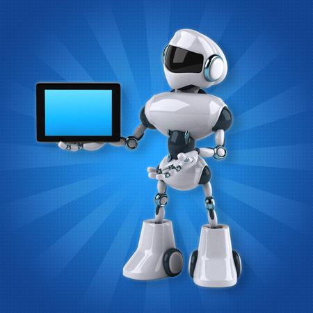 retro computer: Robot Stock Photo