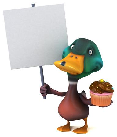 quack: Fun duck Stock Photo