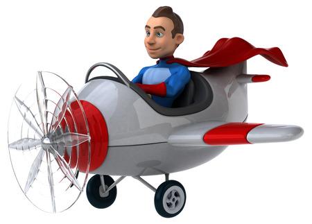 aeronautical: Fun superhero