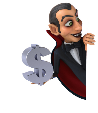 taxman: Vampire Stock Photo