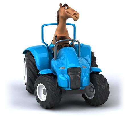agronomy: Fun horse