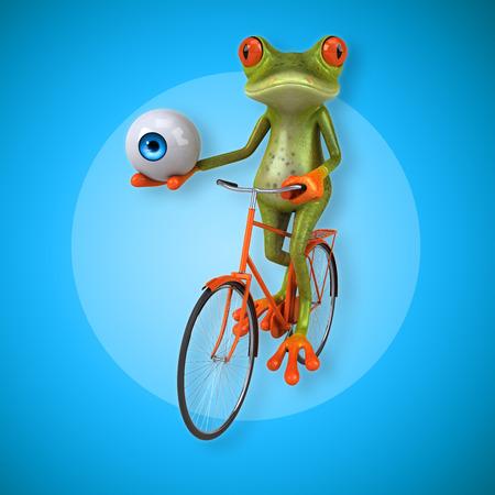 big toe: Fun frog