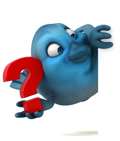 songbird: Blue bird