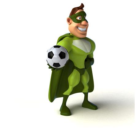 sport man: Fun superhero