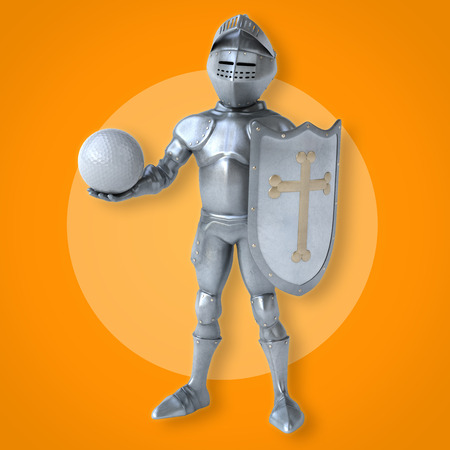 costume ball: Fun knight