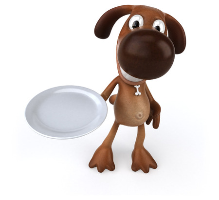 intermittent: Fun dog Stock Photo