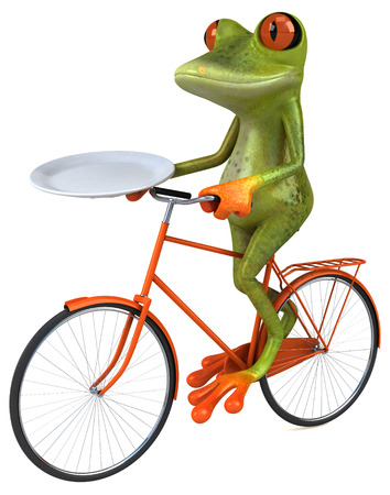intermittent: Fun frog