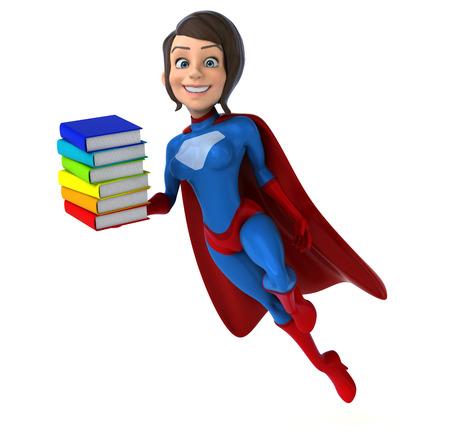 Super woman Stok Fotoğraf